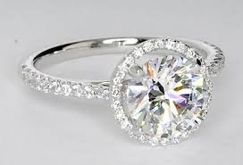 diamond ring halo